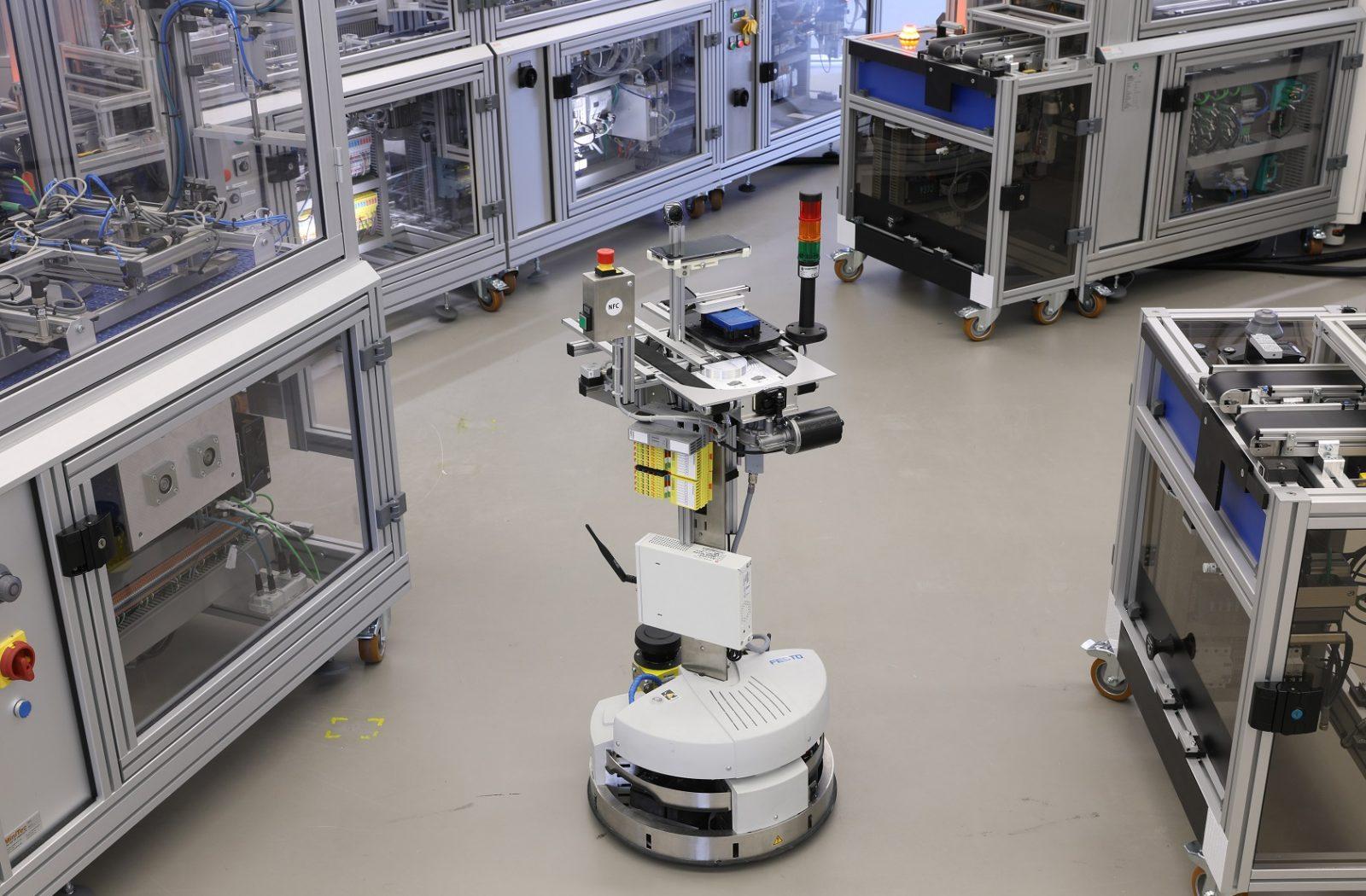 5G-Technologie im Industrieeinsatz