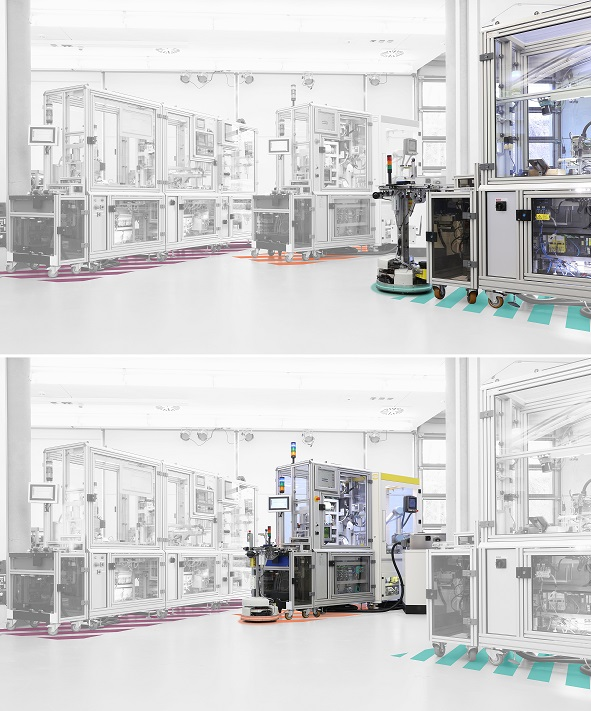 Modular safety concept increases flexibility in plant conversion