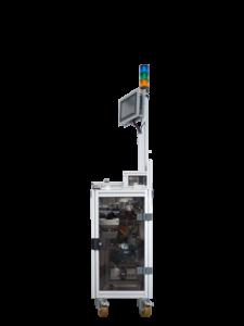 Die DockingStation kann flexibel und einfach an die einzelnen Produktionslinien angebunden werden.