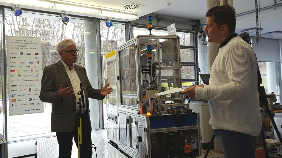 """""""Industrie 4.0 erleben""""-Kampagne mit Ingenieurversteher"""