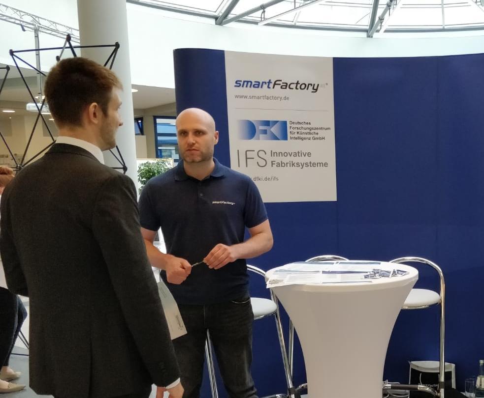 SmartFactoryKL auf Firmenkontaktmesse Treffpunkt