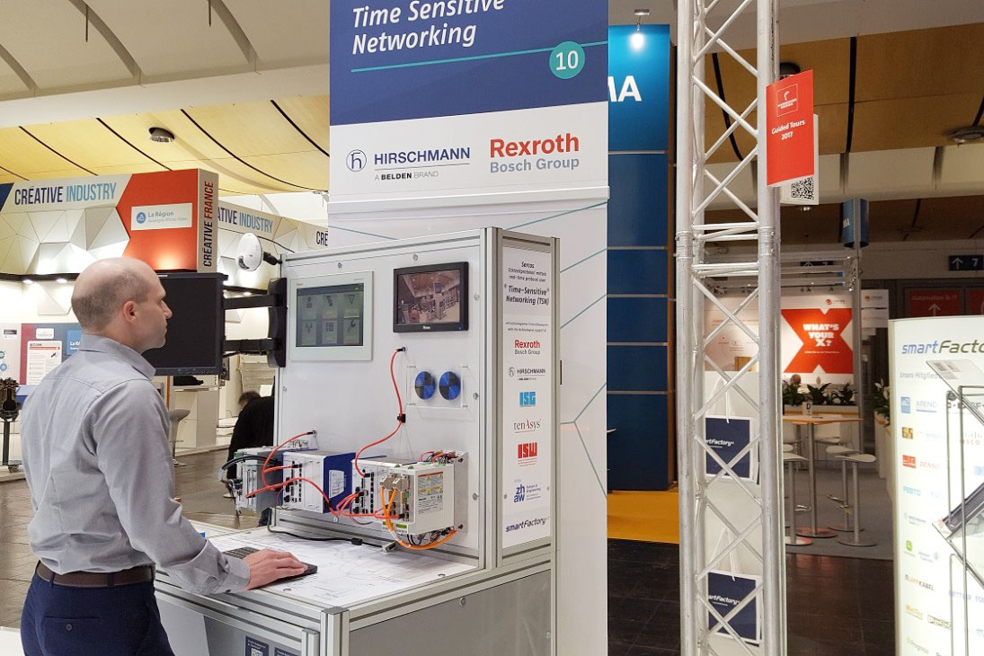 TSN auf Automation-Kongress des VDI präsentiert