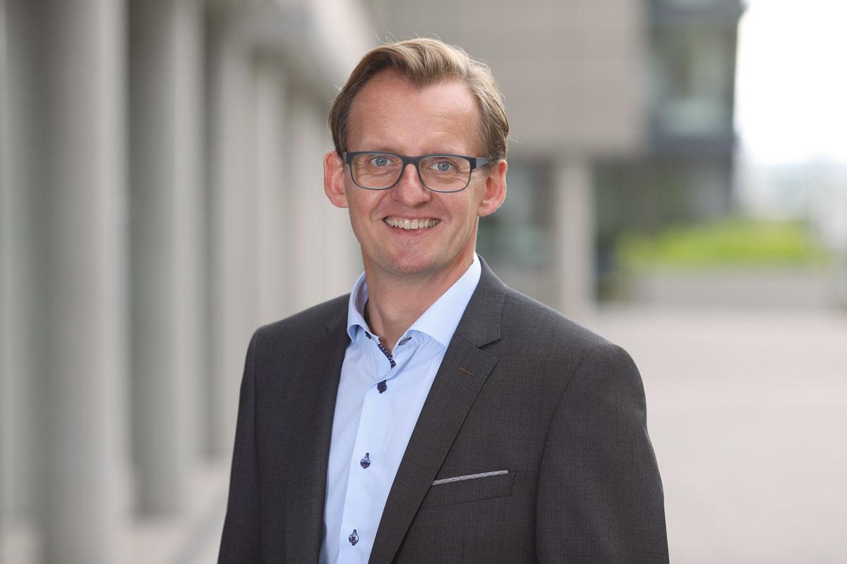 Rüdiger Dabelow, Geschäftsführer der SmartFactoryKL. ©SmartFactoryKL/A.Sell
