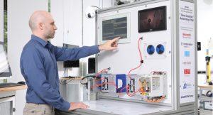 Der TSN-Demonstrator der SmartFactory-KL