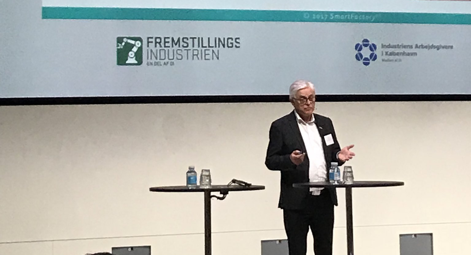 Prof. Zühlke speaks at MADE in Copenhagen, Denmark