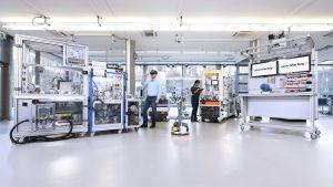 Die SmartFactoryKL zeigt auf der Hannover Messe aktuelle Themen rund um Industrie 4.0.