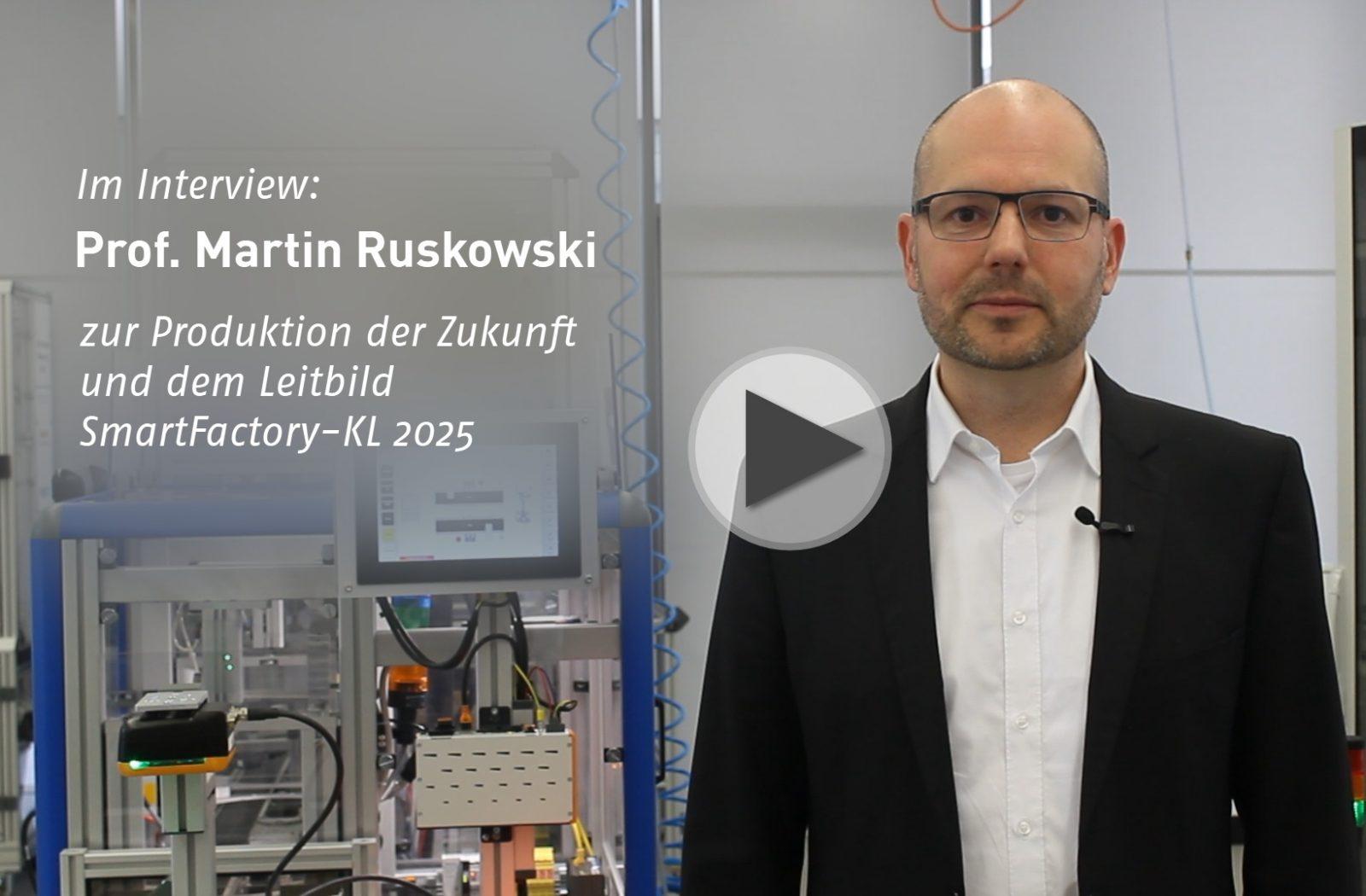 Im Interview: Prof. Ruskowski spricht über autonome Produktion