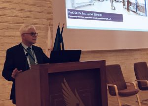 Prof. Zühlke holds keynote speech in Romania