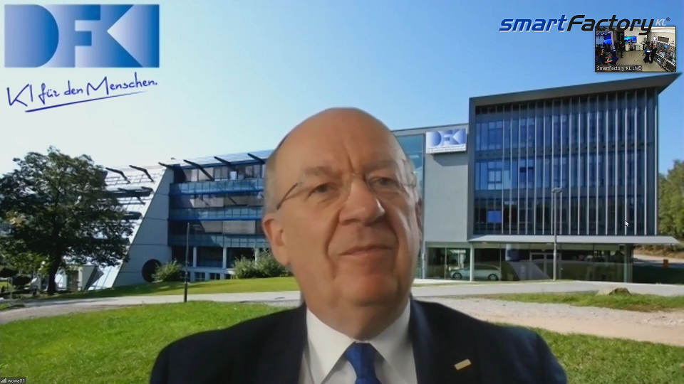"""Prof. Wolfgang Wahlster (ehem. CEO DFKI) erfand 2011 den Begriff """"Industrie 4.0"""""""