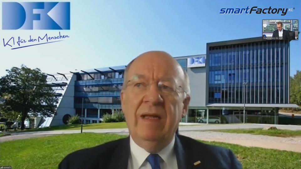 Prof. Wolfgang Wahlster vom DFKI sieht Schwachpunkte bei Künstlicher Intelligenz
