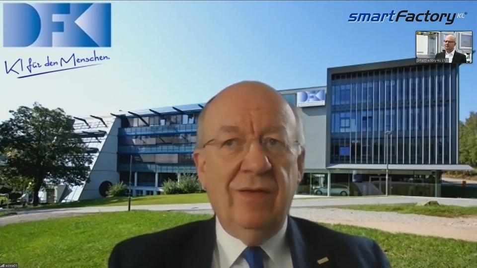 """""""Der Mensch ist der Maschine überlegen!"""" Prof. Wolfgang Wahlster DFKI"""