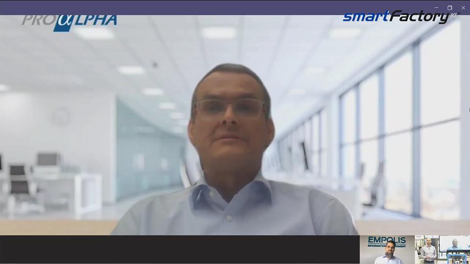 """""""ERP Software muss sich der modularen Produktion der Zukunft anpassen!"""" Dr. Markus Berg, proALPHA"""
