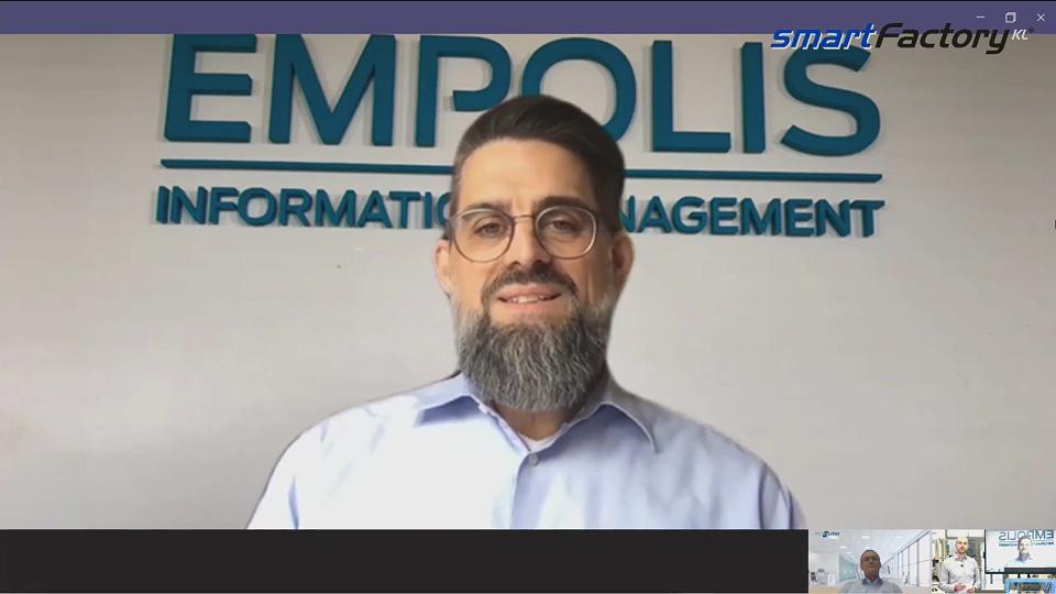 """""""Wie machen wir Maschinen intelligenter?"""" Eric Brabänder, Empolis GmbH"""